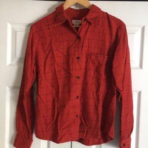 J. Crew Flannel Shirt 🍁🍂🎃